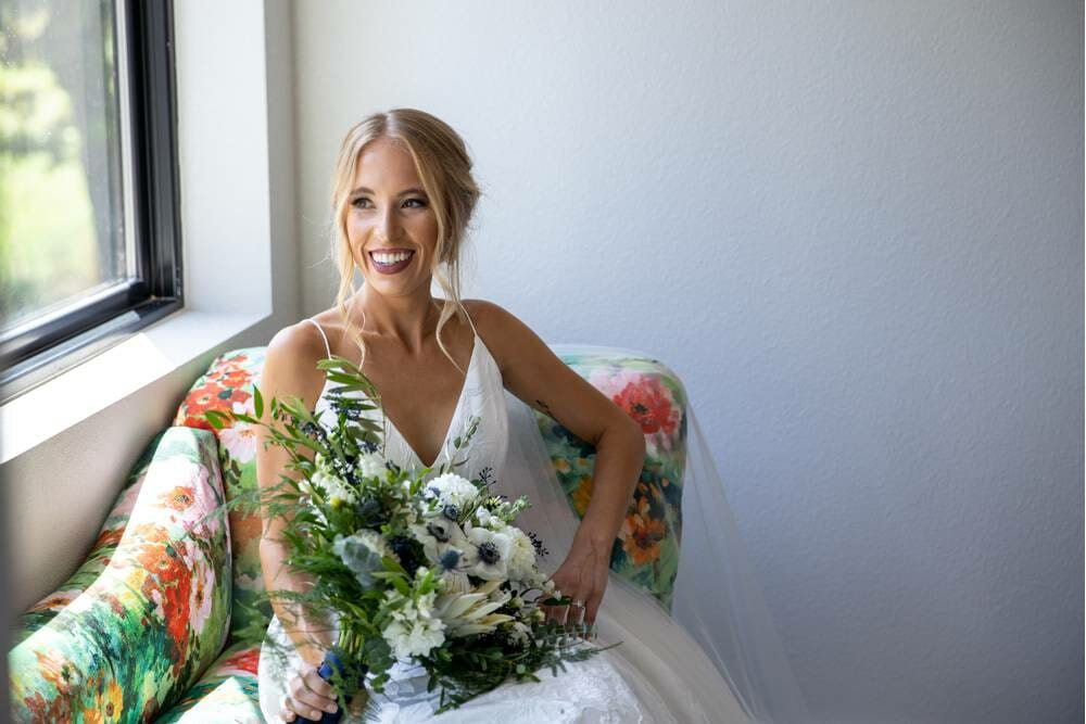 bride at Osage house