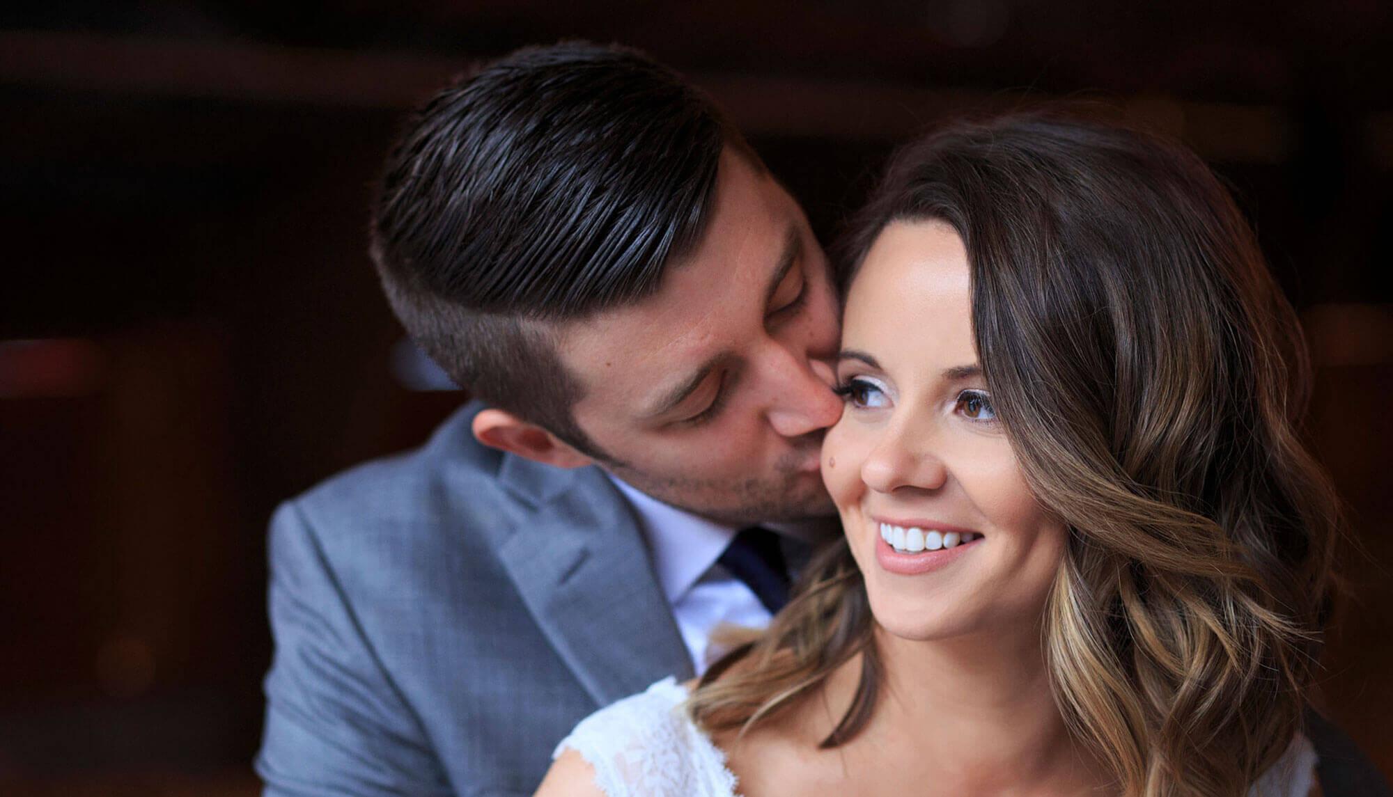 Bride groom intimate moment northwest arkansas wedding photographer striegler photo