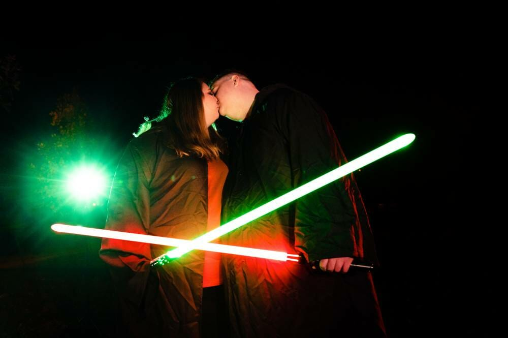 Star Wars engagement session