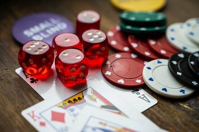 Casino wedding theme