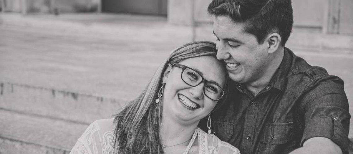 Engagement Photos on the University of Arkansas Campus (7)