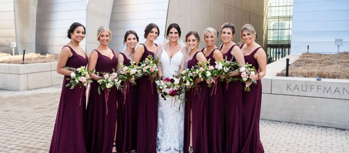 bridesmaids-with-warmer-colored-dresses